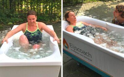 Wim Hof Methode: Ja, ik zat in het ijsbad!